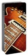 Sunburst Electric Guitar Portable Battery Charger