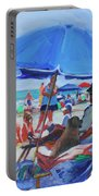 Sunday Beach Blues Portable Battery Charger