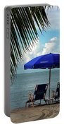Sunday Morning At The Beach In Key West Portable Battery Charger