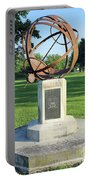 Sundial At American Legion Post, Indianapolis, Indiana Portable Battery Charger