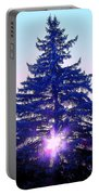 Sundown In The Forest Portable Battery Charger