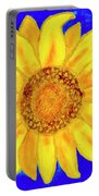 Sunflower, Acrylic Painting Portable Battery Charger