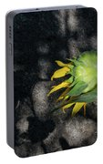Sunflower And Shadow Portable Battery Charger
