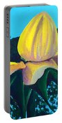 Sunflower And Spider Portable Battery Charger