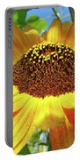 Sunflower Art Prints Sun Flowers Gilcee Prints Baslee Troutman Portable Battery Charger