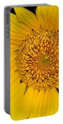Sunflower At Dusk Portable Battery Charger