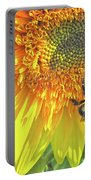 Sunflower Bees Portable Battery Charger