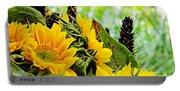 Sunflower Bouquet 2 Portable Battery Charger