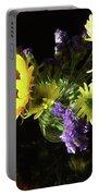 Sunflower Bouquet Portable Battery Charger
