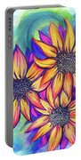 Sunflower Bundle Portable Battery Charger