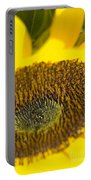 Sunflower Close-up Portable Battery Charger