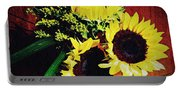 Sunflower Decor 3 Portable Battery Charger