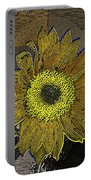 Sunflower Dreaming Portable Battery Charger