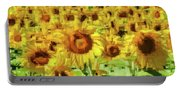 Sunflower Edges Portable Battery Charger