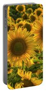 Sunflower Family Portable Battery Charger