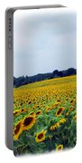 Sunflower Farm Portable Battery Charger