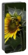 Sunflower Fractalius Beauty Portable Battery Charger
