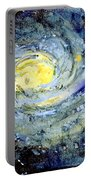 Sunflower Galaxy Portable Battery Charger