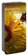 Sunflower Heaven Portable Battery Charger