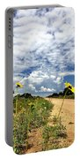 Sunflower Hitchhikers Portable Battery Charger