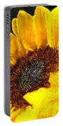 Sunflower Impression Portable Battery Charger