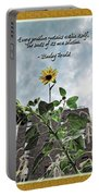 Sunflower Inspiration Portable Battery Charger