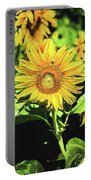 Sunflower Portable Battery Charger by Jessica Manelis