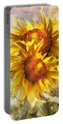 Sunflower Light Portable Battery Charger