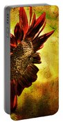 Sunflower Portable Battery Charger by Lois Bryan