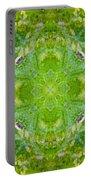 Sunflower Mandala Portable Battery Charger