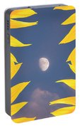 Sunflower Moon Portable Battery Charger