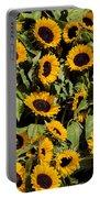 Sunflower Near Van Gogh Museum Portable Battery Charger