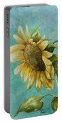 Sunflower Number One Portable Battery Charger