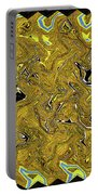 Sunflower Pie Abstract Portable Battery Charger