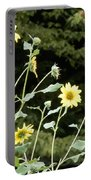Sunflower Sea Of Happiness Portable Battery Charger