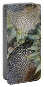 Sunflower Seed Heads Dried To Perfection Portable Battery Charger
