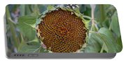 Sunflower Seedhead Portable Battery Charger