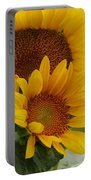 Sunflower Show Portable Battery Charger