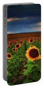 Sunflower Storms Portable Battery Charger