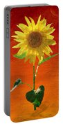 Sunflower Summer  Portable Battery Charger