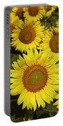 Sunflower Sunshine Portable Battery Charger