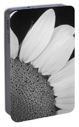 Sunflower Three Quarter Portable Battery Charger