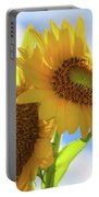 Sunflower Twins Portable Battery Charger