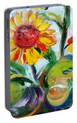 Sunflowers 9 Portable Battery Charger