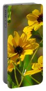 Sunflowers Along The Trail Portable Battery Charger