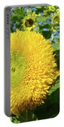 Sunflowers Art Prints Sun Flower Giclee Prints Baslee Troutman Portable Battery Charger