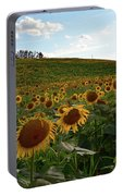 Sunflowers Fields  Portable Battery Charger