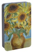 Sunflowers II. Portable Battery Charger
