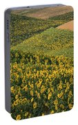 Sunflowers In The Palouse Portable Battery Charger