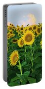 Sunflowers In The Sky Portable Battery Charger